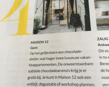 Bruisend stadsplekje Maison 12 in Goodbye magazine